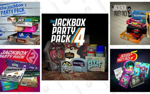 जैकबॉक्स पार्टी पैक्स के सभी, उनके सर्वश्रेष्ठ खेलों द्वारा रैंक किए गए