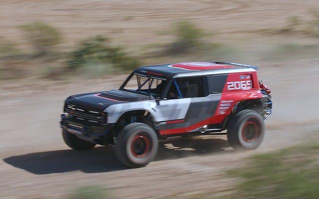 La Ford Bronco R del 2020 correrà alla Baja 1000