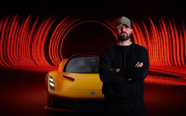 Lotus travaille avec un producteur de musique sur la `` note de moteur '' d'Evija