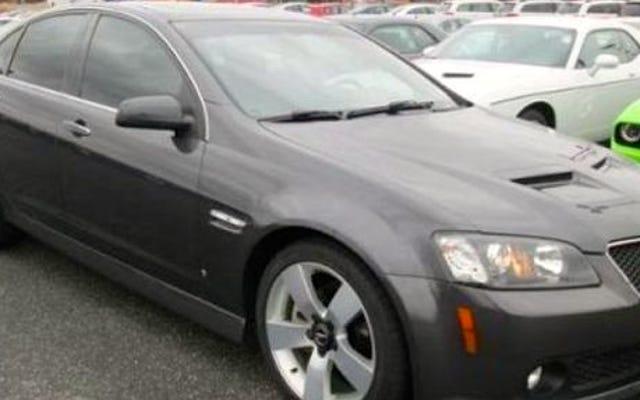ディーラーから盗まれた車は少なくとも6つの警察の追跡にありました