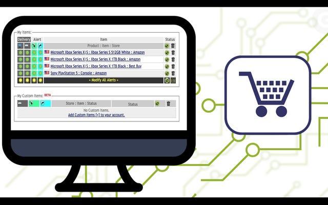 Come configurare adesso Avvisi in magazzino per l'acquisto di gadget difficili da trovare