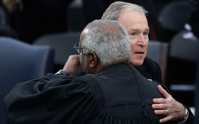 ジョージ・W・ブッシュはドナルド・トランプの就任演説は「奇妙なたわごと」だったと思った