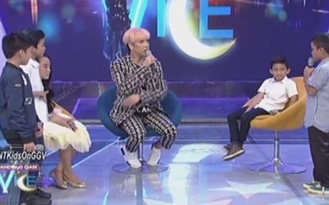 Mire: Niños en programa de juegos en Filipinas arrebatan pelucas durante la actuación de Beyoncé 'Listen'