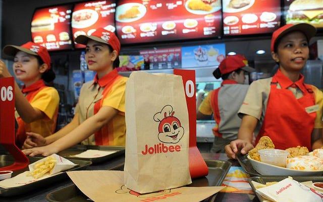 Siempre hace sol en Jollibee, la irreprimiblemente feliz cadena de comida rápida filipina