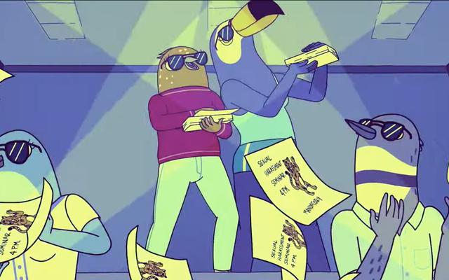 ティファニーハディッシュとアリウォンは、Netflixコメディの最初の予告編のトゥカ&バーティーです