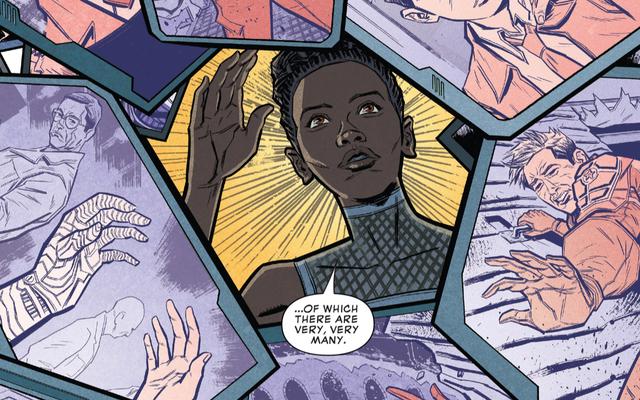 新しいマーベルコミックは、ワカンダがアベンジャーズに間に合うようにバッキーの心を癒す方法を説明しています:無限大戦争