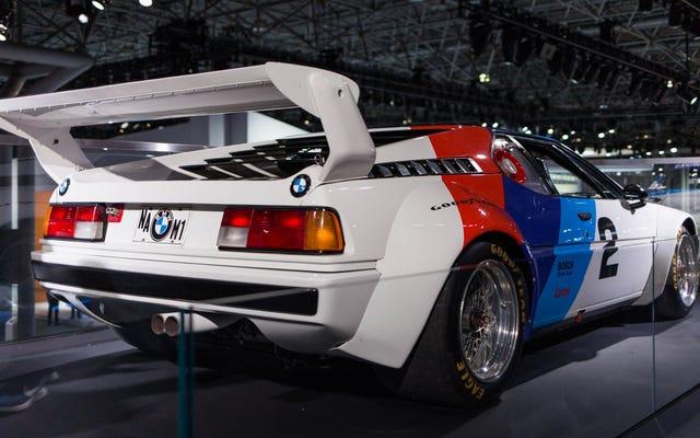 BMWM1が素晴らしい40周年を祝いましょう