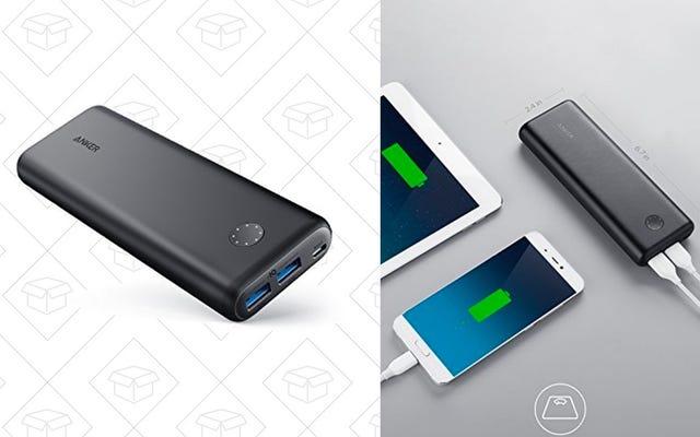 एंकर के नवीनतम पावरकोर II बैटरी पैक पर $ 14 बचाएं