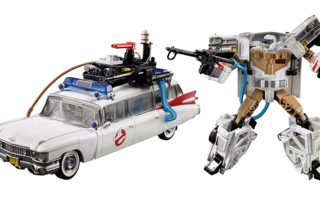 Transformers rencontre Ghostbusters dans ce jouet composite des années 80 totalement tubulaire
