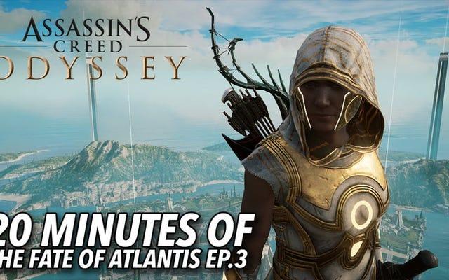 Nowe rozszerzenie Atlantis do Assassin's Creed Odyssey rzuca się w oczy
