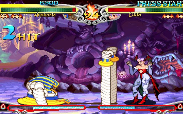 Le configurazioni arcade mantengono vivo il sogno dei competitivi Darkstalkers 3