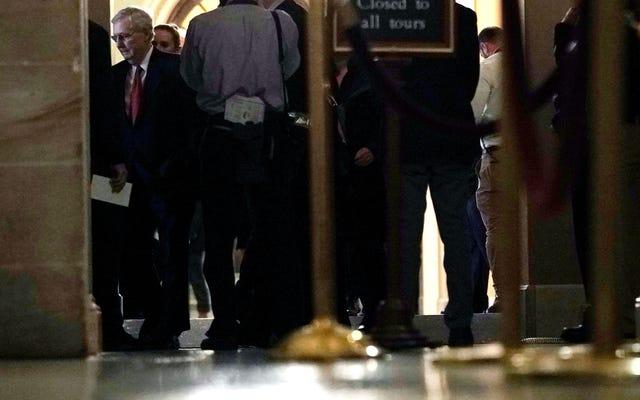 Descanse en paz ante el duelo de los proyectos de ley del Senado para reabrir el gobierno, que murieron rápidamente