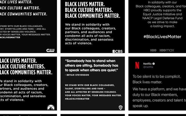 The Hollywood Black Squares: Sebuah Perhitungan tentang Apakah Solidaritas Dengan Kehidupan Kulit Hitam Penting Adalah Fakta atau Fiksi