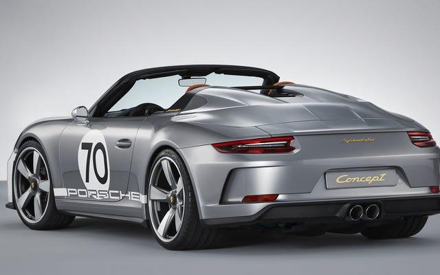Les délices du concept Porsche 911 Speedster sont dans les détails