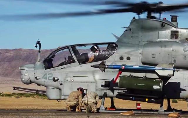 これらの海兵隊が数分で前方の武装/給油ポイントを設定するのを見てください