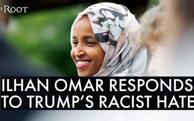 「私たちは私たちが属している場所です」:イルハン・オマル議員はトランプと彼の支持者が彼女を沈黙させることを許可することを拒否します