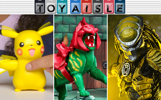 Những món đồ chơi đẹp nhất trong tuần đều có màu sặc sỡ