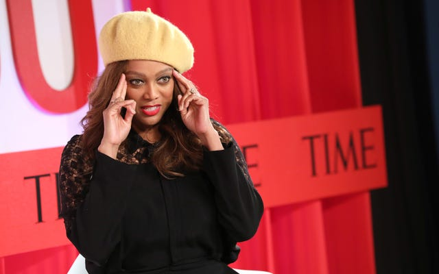Tyra Banks étend son empire avec 'Smize Cream'