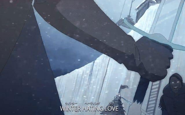 Ta gra o tron w stylu anime jest niesamowicie idealna