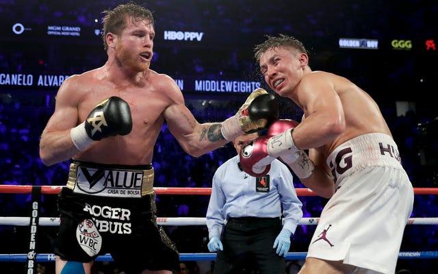Canelo Álvarez se faufile étroitement devant Gennady Golovkin dans un combat de revanche de Kickass
