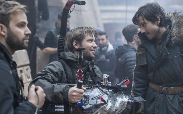 ผู้กำกับ Rogue One Gareth Edwards ให้ความสำคัญกับการโต้เถียงเรื่อง Reshoot