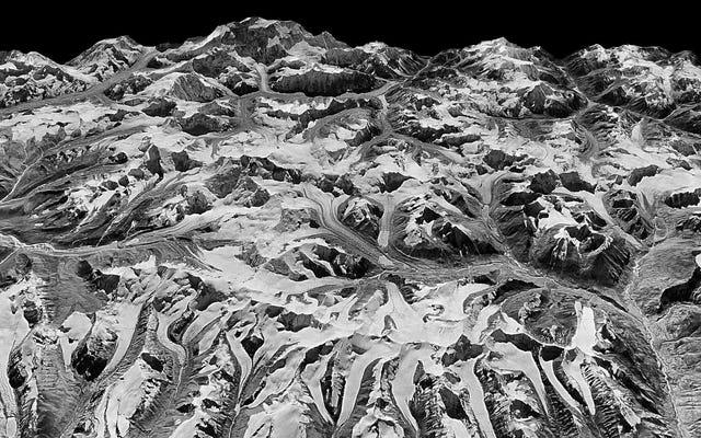 Satelita szpiegowski zimnej wojny ujawnia, jak szybko Himalaje tracą lód