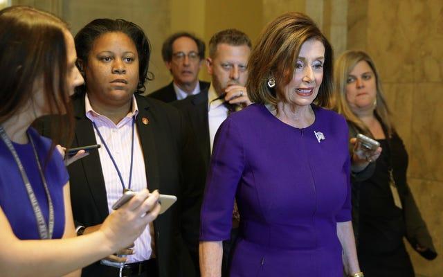ナンシー・ペロシが弾劾調査を開始する計画を発表