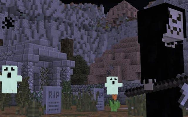 Minecraftは驚くほど効果的なホラーゲームになる可能性があります