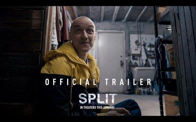M. Night Shyamalan biến James McAvoy thành 23 nhân cách trong đoạn giới thiệu Split