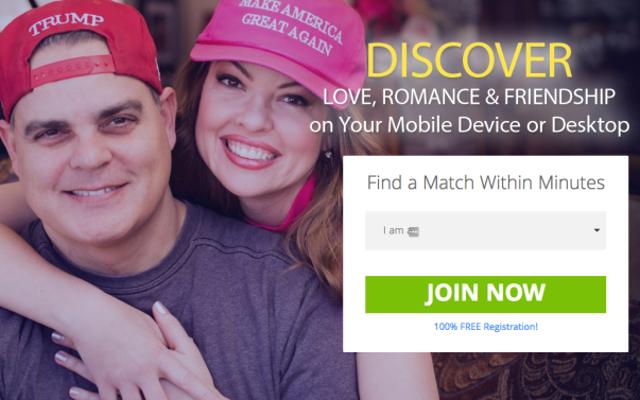 そのトランプの出会い系サイトの広告の男は子供の性的信念を持っています