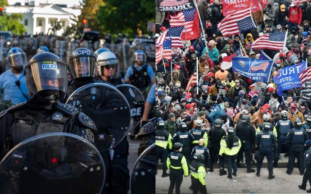 รายงาน: ตำรวจดีซีทำการจับกุมเพิ่มขึ้นอย่างน้อย 5 เท่าในช่วงหนึ่งวันของการประท้วง BLM มากกว่าที่ Capitol Insurrection