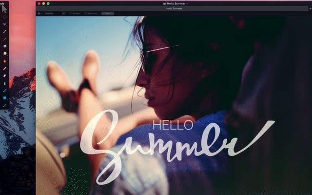 Pixelmator ajoute des onglets, une nouvelle fonctionnalité de raffinement intelligent et la prise en charge de la barre tactile du MacBook Pro