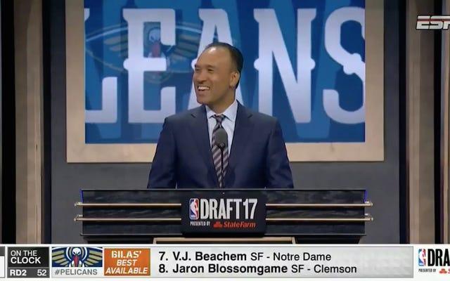 Wiseass, NBA Draftında Açıklanmadan Hemen Önce Seçimleri Duyurdu