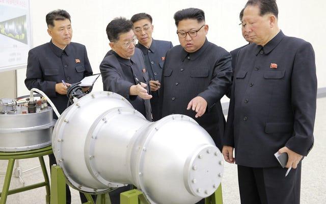 Kuzey Kore'nin 2017 Nükleer Testinin Hiroşima'ya Düşürülen Bombadan 16 Kat Daha Güçlü Olduğu Tahmin Edildi