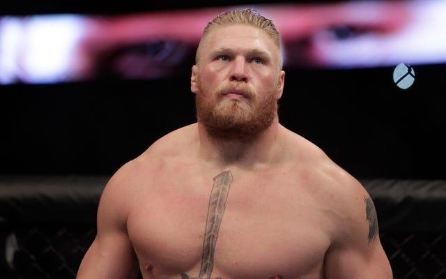 Brock Lesnar ยอมรับว่าเขาทำได้กับ UFC แล้วจะยังคงเป็นนักมวยปล้ำมืออาชีพ
