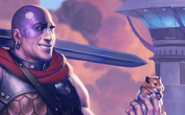 El regreso triunfal del hámster más famoso de Dungeons & Dragons