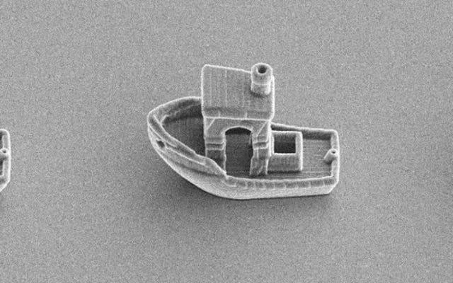 भौतिकविदों 3D एक नाव प्रिंट कि एक मानव बाल नीचे पाल सकता है