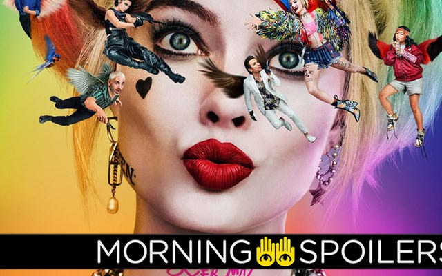 """Margot Robbie drażni """"Kooky"""" Birds of Prey"""