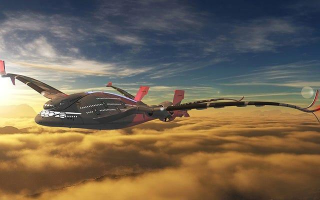 この壮大なスーパージェットは、これまでで最も環境に優しいものになります