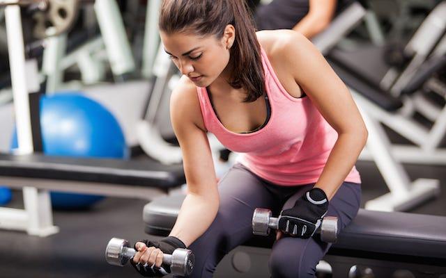Spor Salonuna Giden Adam Spor Salonunda Kadınlara Nasıl Vurulacağını Biliyor