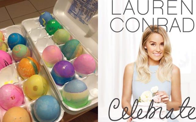 J'ai essayé de célébrer comme Lauren Conrad et tout ce que j'ai eu était un tas d'oeufs supplémentaires