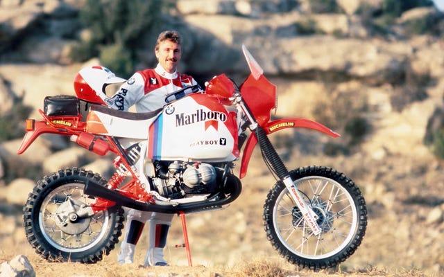 BMW a remporté le Dakar en 1985 avec un junker cassé d'une moto