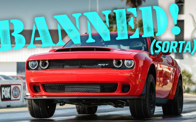 Inilah Mengapa The Dodge Challenger SRT Demon Dilarang Oleh NHRA Tapi Tidak Juga