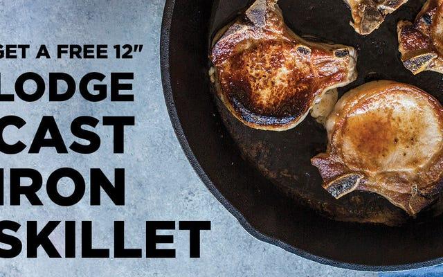 Regístrese en Butcher Box, obtenga $ 50 para gastar en auténticos utensilios de cocina Lodge