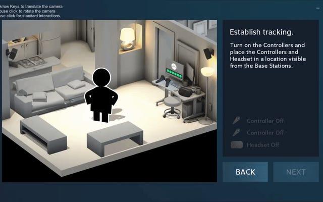 Esperemos que Vive VR de Valve sea tan bueno como sus instrucciones de configuración