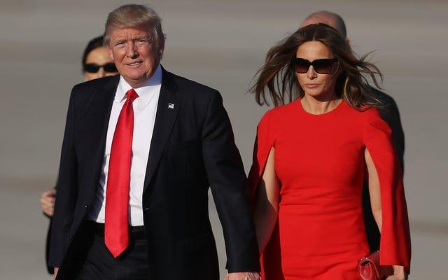 Amigo de Melania Trump supuestamente le dijo que Be Best 'sonaba analfabeto