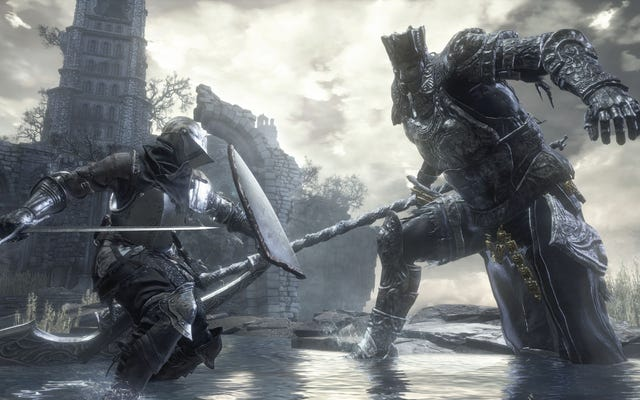 Dark Souls 3 Người chơi tìm ra cách cực kỳ nực cười để đánh bại một ông chủ