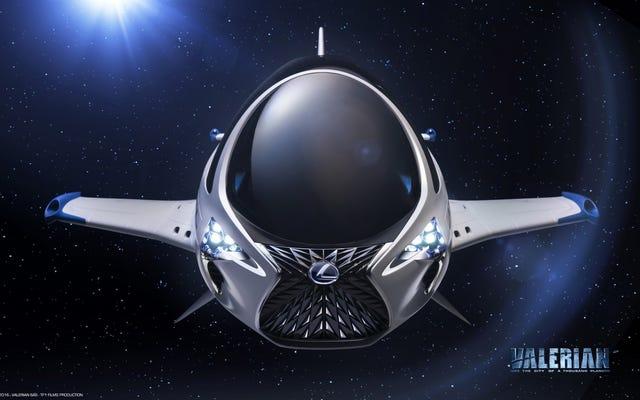 レクサスはバレリアンのための宇宙船にその厄介な醜い顔を置きましたそしてああいいえ