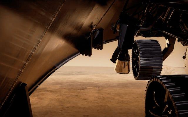 """Посмотрите серию """"Семь минут террора"""", ожидающих упорства НАСА в его марсианском спуске"""
