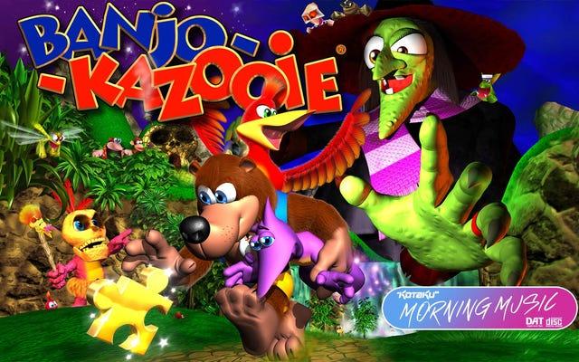J'aime comment la musique de Banjo-Kazooie change pendant que je joue